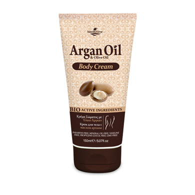 HERBOLIVE Argan Oil Body Cream Arganöl & Olivenöl 150 ml