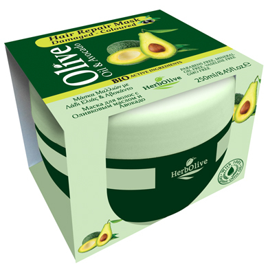 herbolive haarmaske repair mask oliven l avocado 250ml. Black Bedroom Furniture Sets. Home Design Ideas