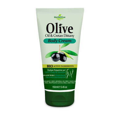 HERBOLIVE Body Cream Cretan Dittany & Olivenöl 150ml