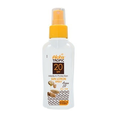 ALOHA TROPIC SUN LOTION SPF 20 ARGAN OIL 100 ml