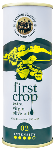 Lyrakis First Crop Frühe Ernte Olivenöl extra natives 250ml
