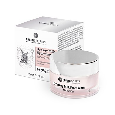 Fresh Secrets Eselsmilch Gesichtscreme Hydrating Cream 50ml
