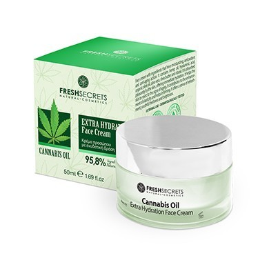 Fresh Secrets Cannabis Oil Gesichtscreme Extra Hanföl 50 ml